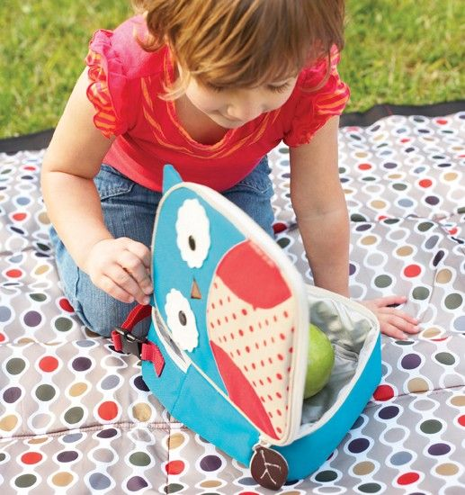 Skip Hop Zoo Lunchies Owl Insulated Lunch Bag-Make Kids Lunches a HOOT.