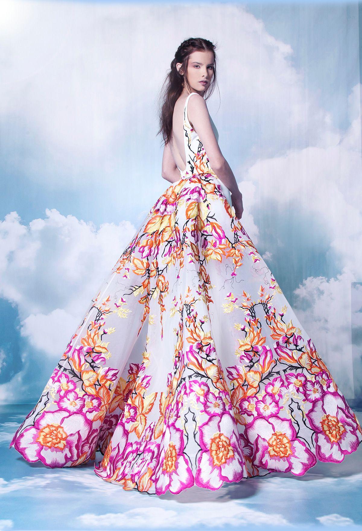 NICOLAS JEBRAN | Evening gowns | Pinterest