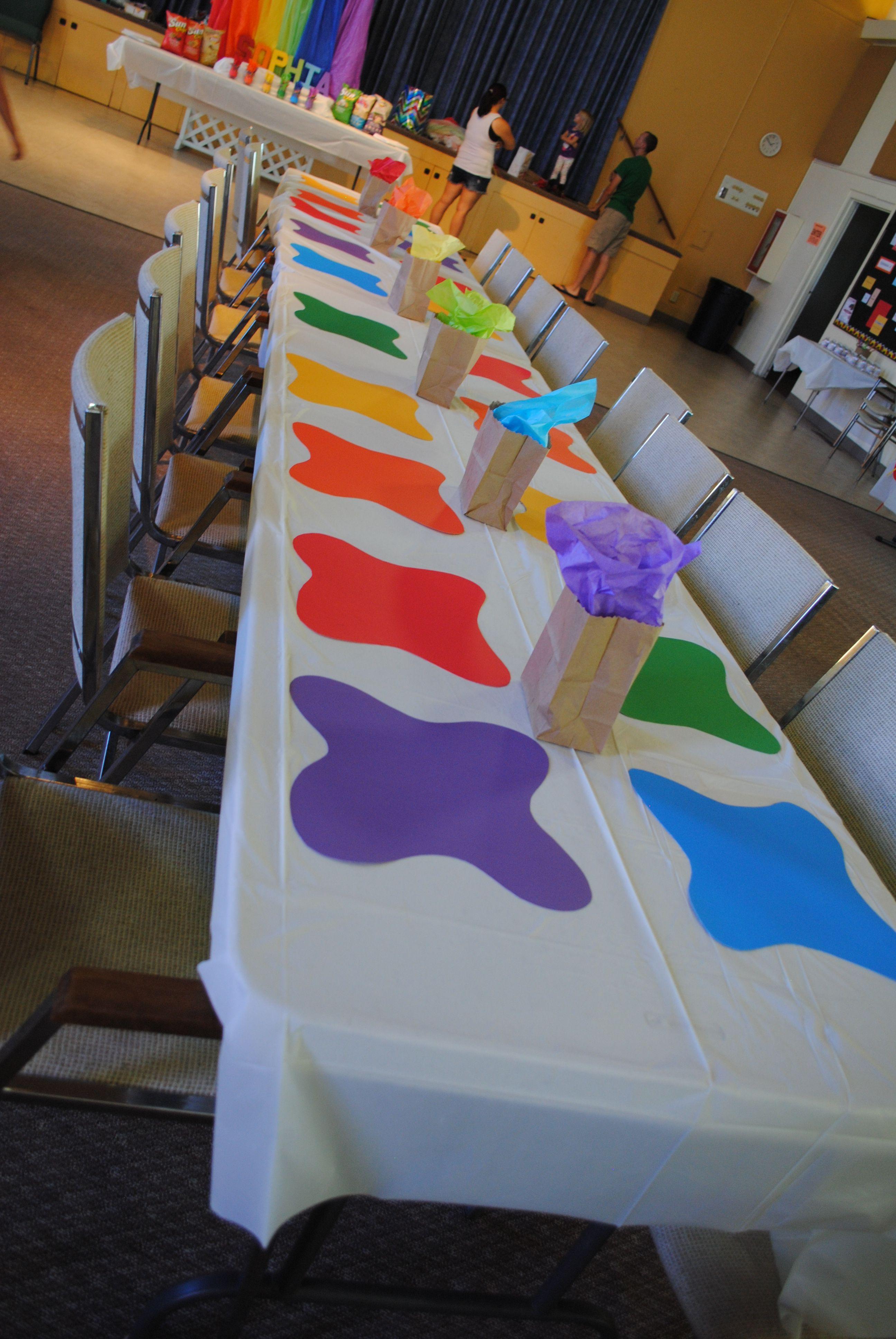 Rainbow Art Party Rainbow Art Party Pinterest Rainbow Art  # Muebles Rainbow