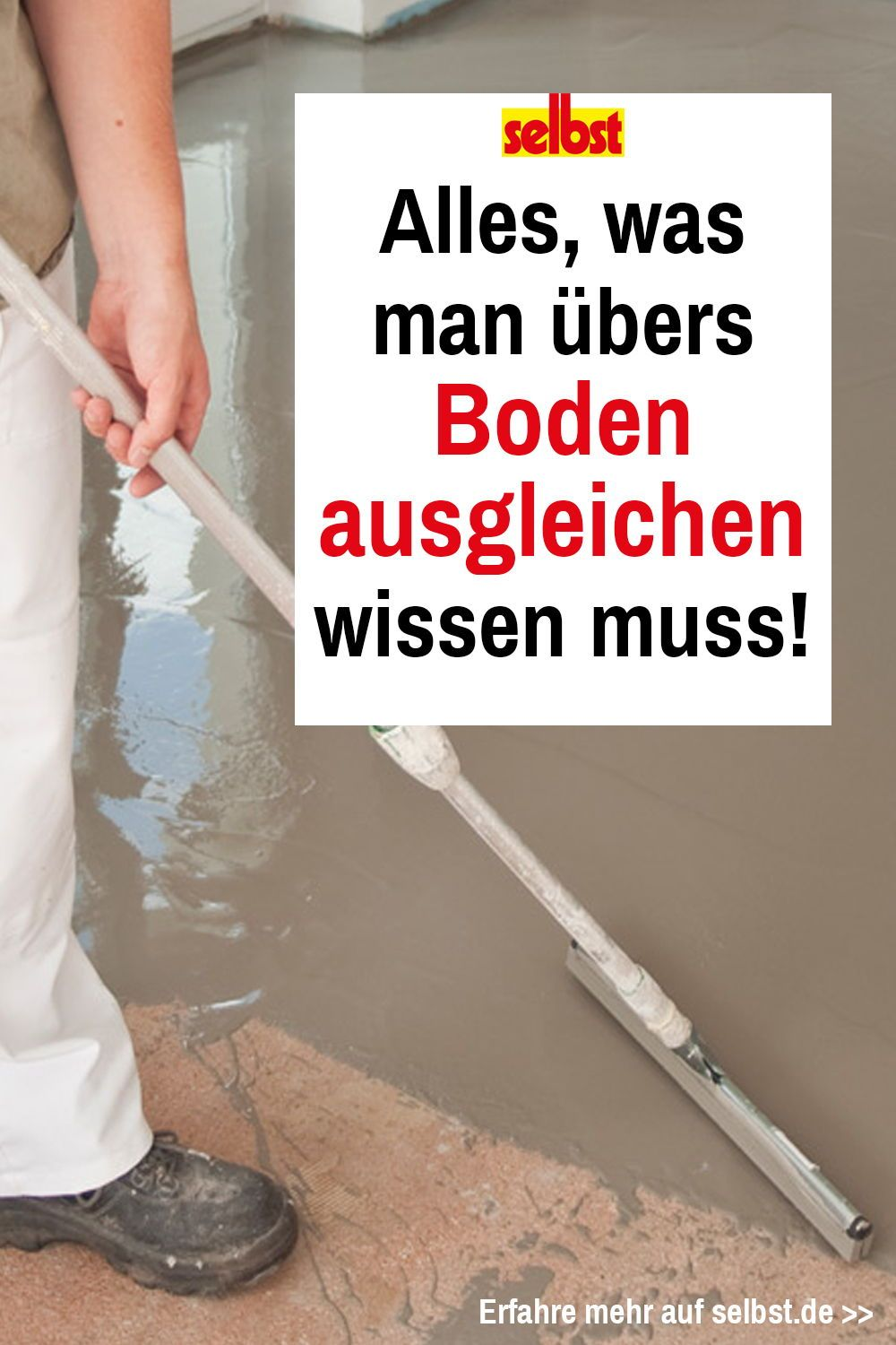 Photo of Ebener Boden | selbst.de