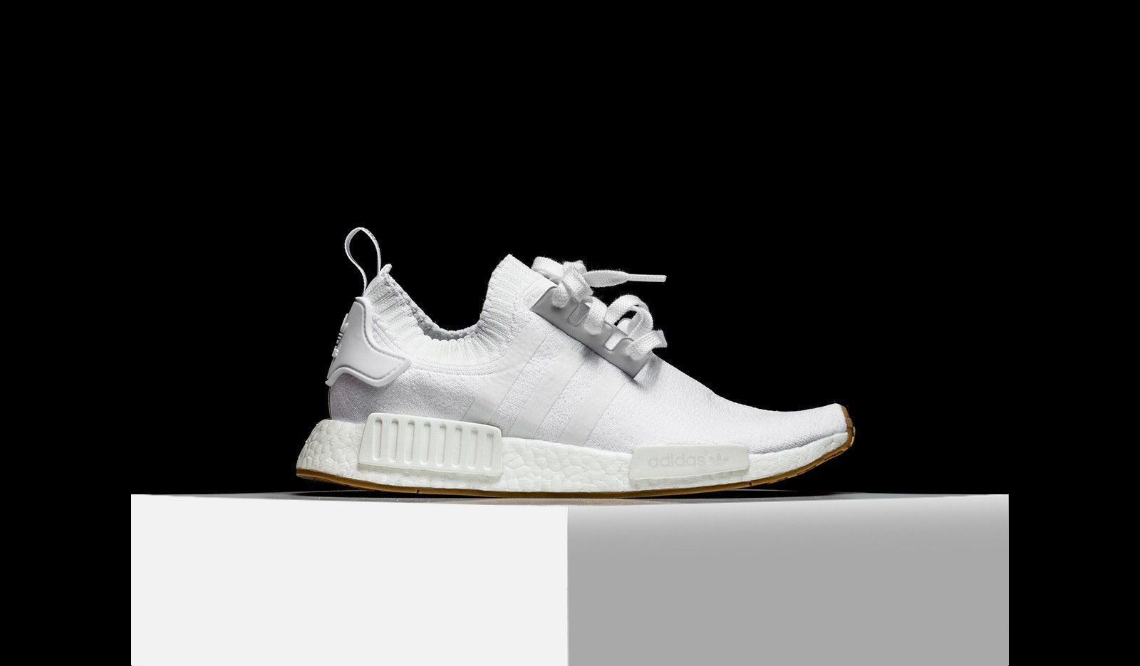 lowest price 171ad 5003f Adidas NMD r1 Primeknit blanco BY1888. Adidas Originals 2017