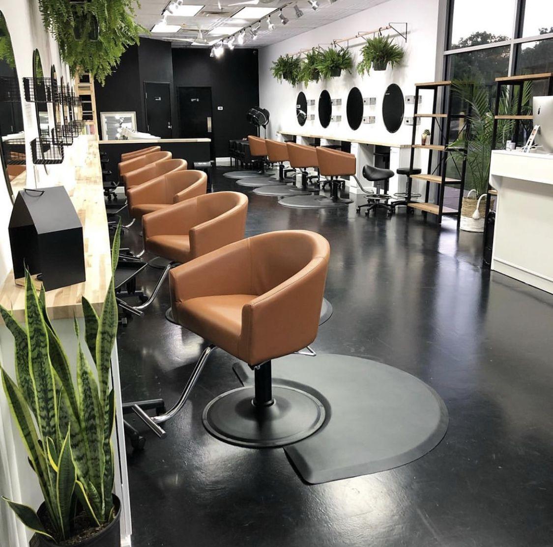 Hayden Hair Studio Myminerva Salon Suites Decor Hair Salon Interior Salon Interior Design