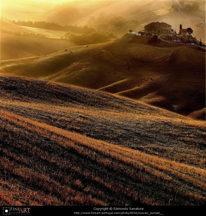 Tuscan sunset   © Edmondo Senatore