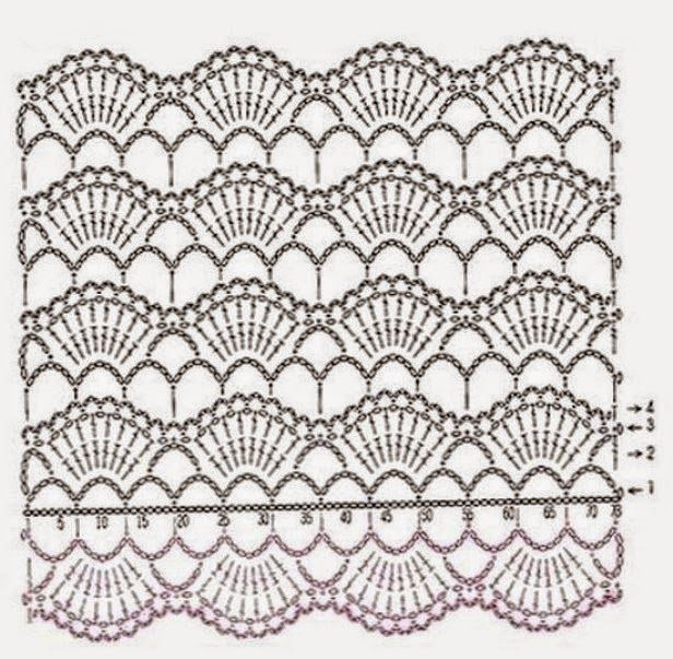 Bufandas juveniles con sus patrones | Crochet y dos agujas | crochet ...