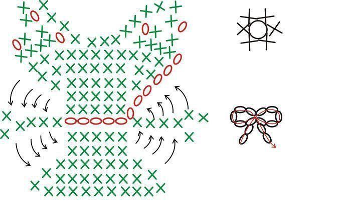Hello Kitty Llavero - Patrones Crochet | Crochet | Pinterest ...