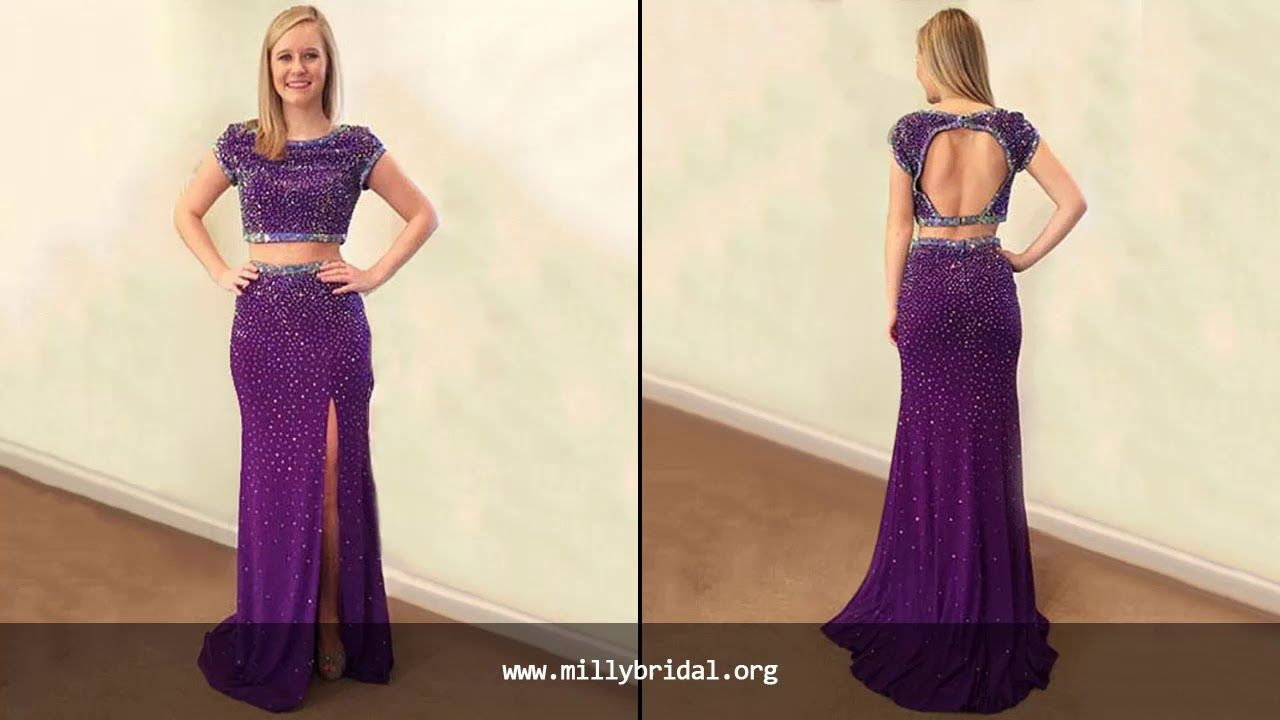Elegant Purple Prom Dresses For Girls Gorgeous Formal Party Dress