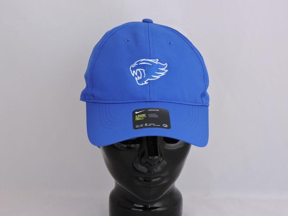 New Nike Golf Kentucky Wildcats Dri-Fit Legacy 91 Tech Adjustable Golf Cap  Hat (eBay Link) 251e1603b5e