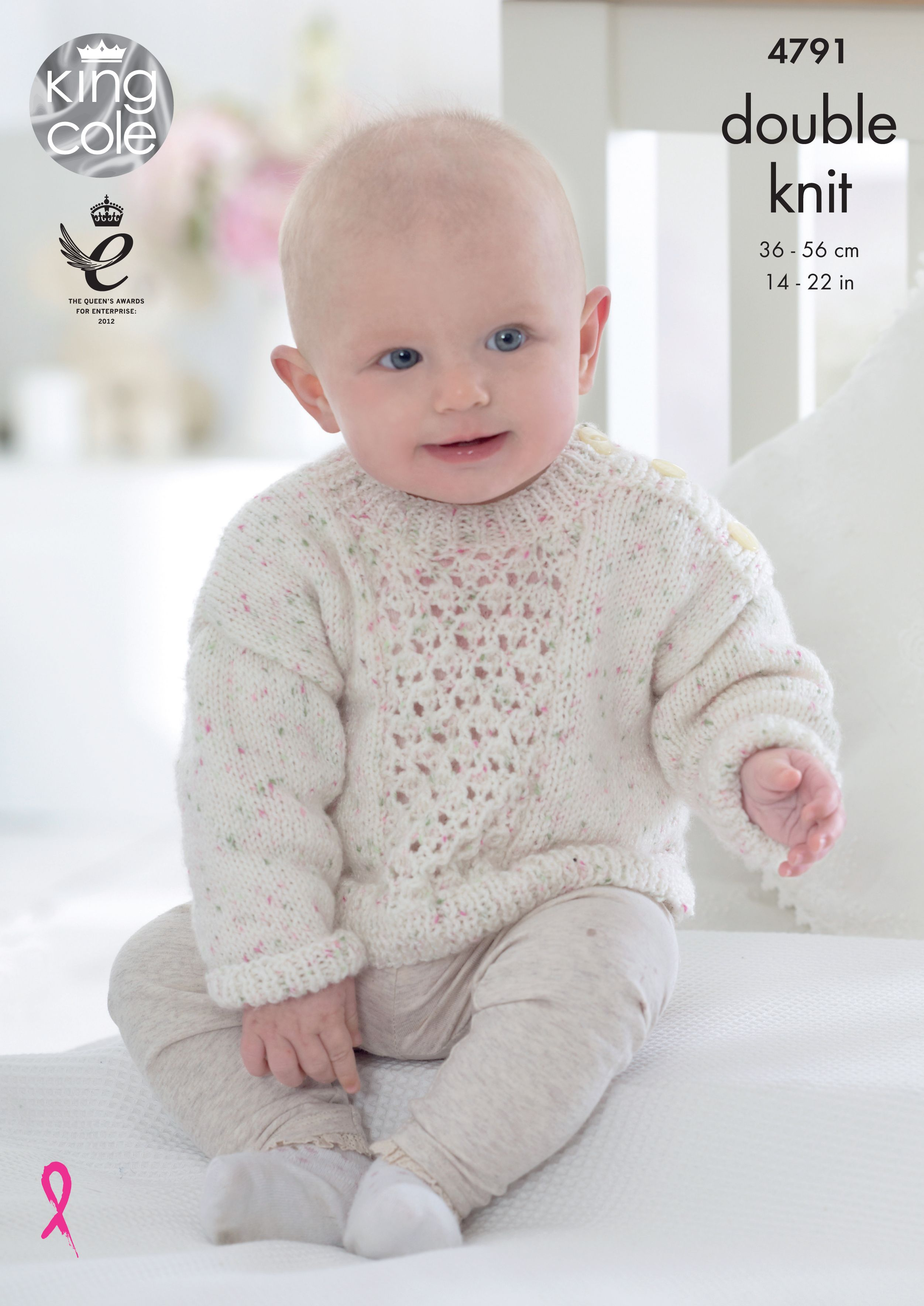 a7010b77233f Sweaters Knitted with Smarty DK - King Cole