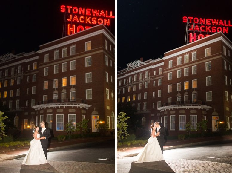 Bethel Presbyterian Church Stonewall Jackson Hotel Staunton Virginia Wedding