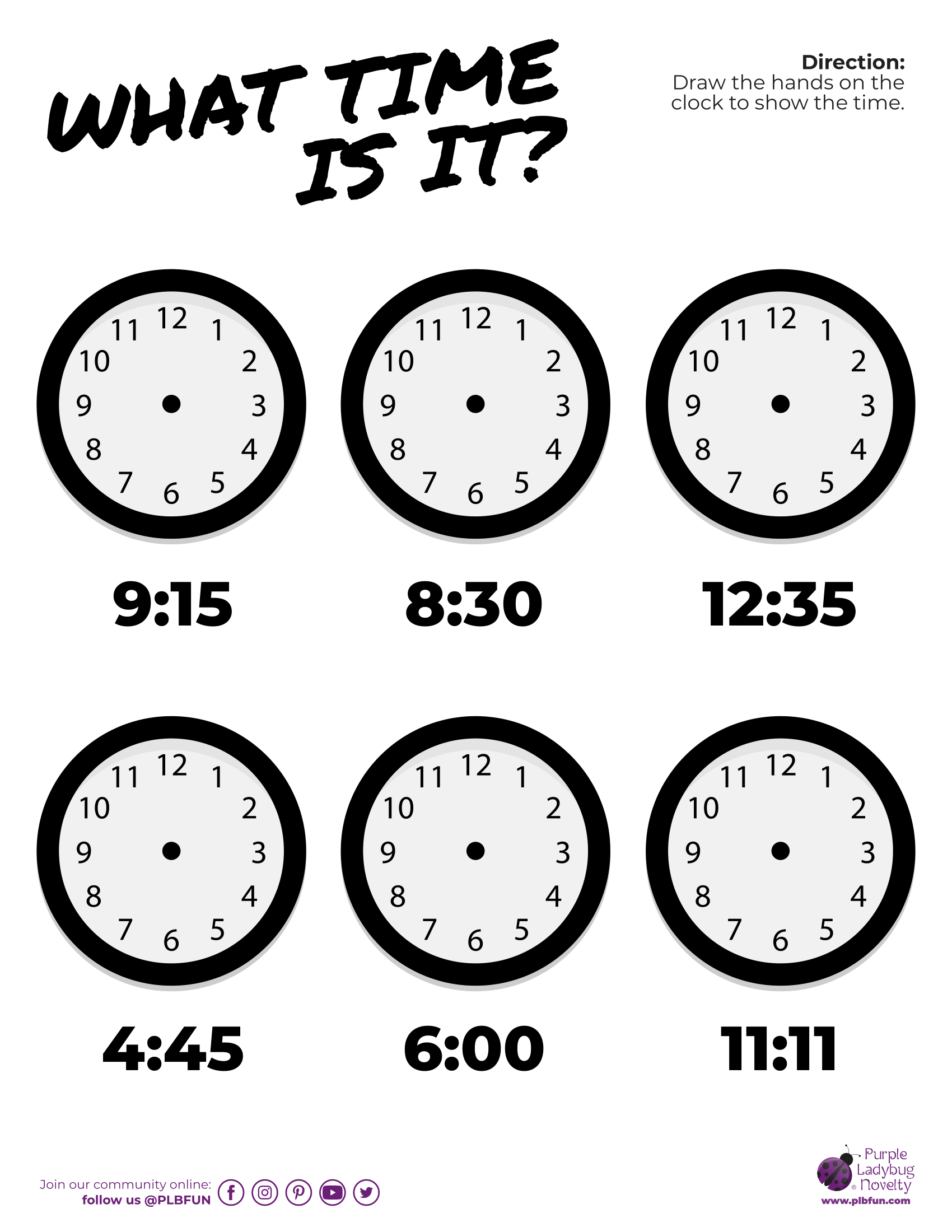 Daylight Saving Tips Free Printable In