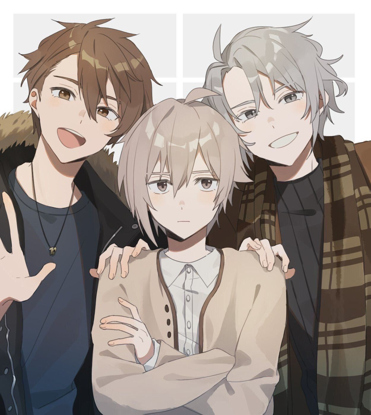 Twitter una_79 Anime best friends, Friend anime