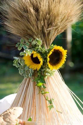 Sunflowers And Wheat Weddings