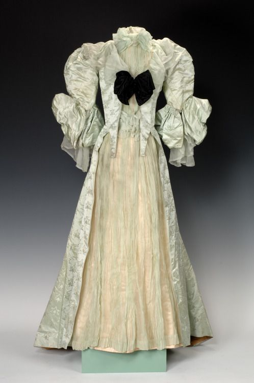 Dress by House of Worth, 1893-96, Paris, France.