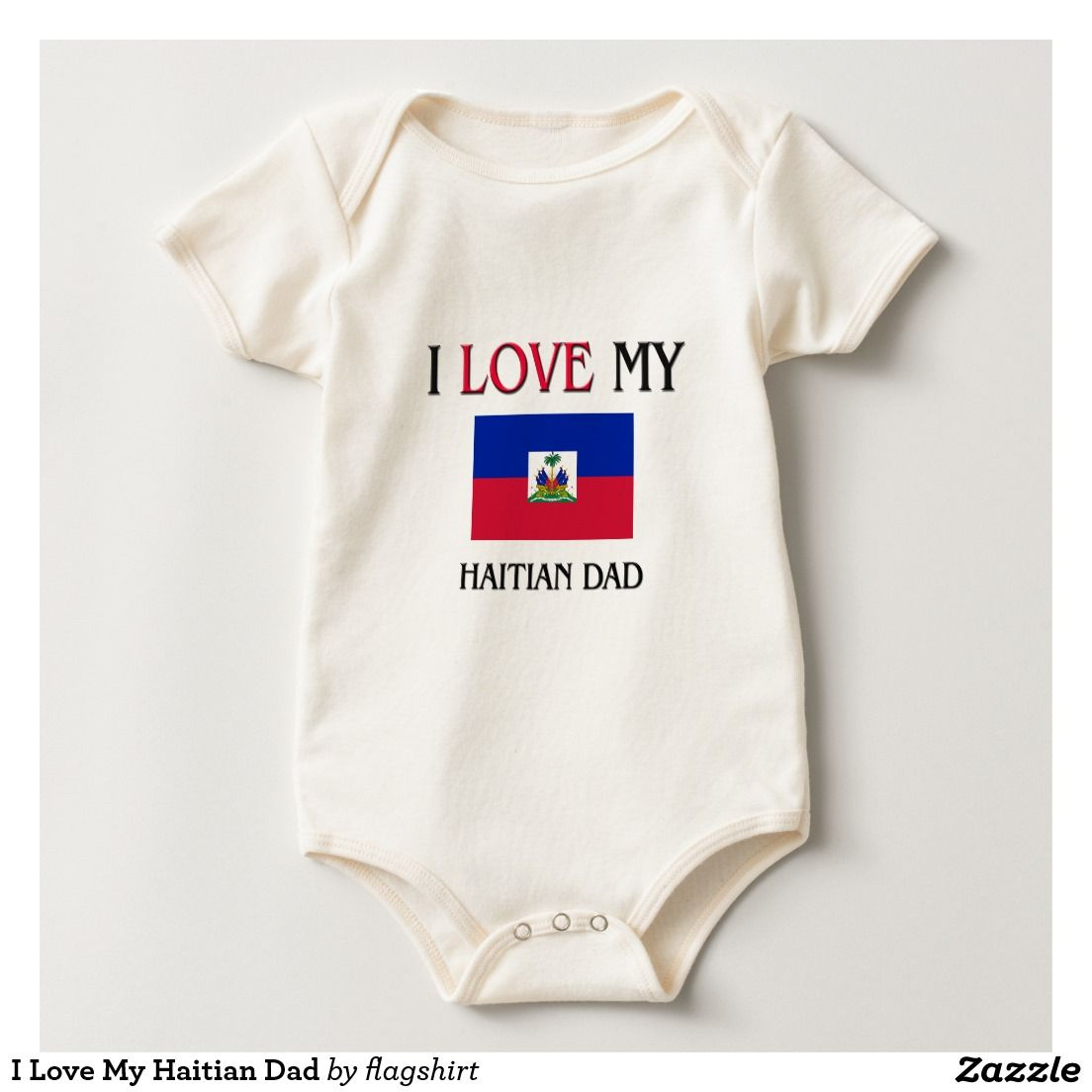 b67f86705 I Love My Haitian Dad Creeper
