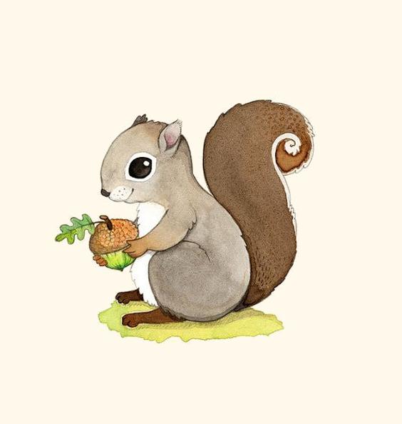 Bieennnvenueee Cheezzz Zeezeeetee Page 35 Squirrel Painting Squirrel Clipart Squirrel Print