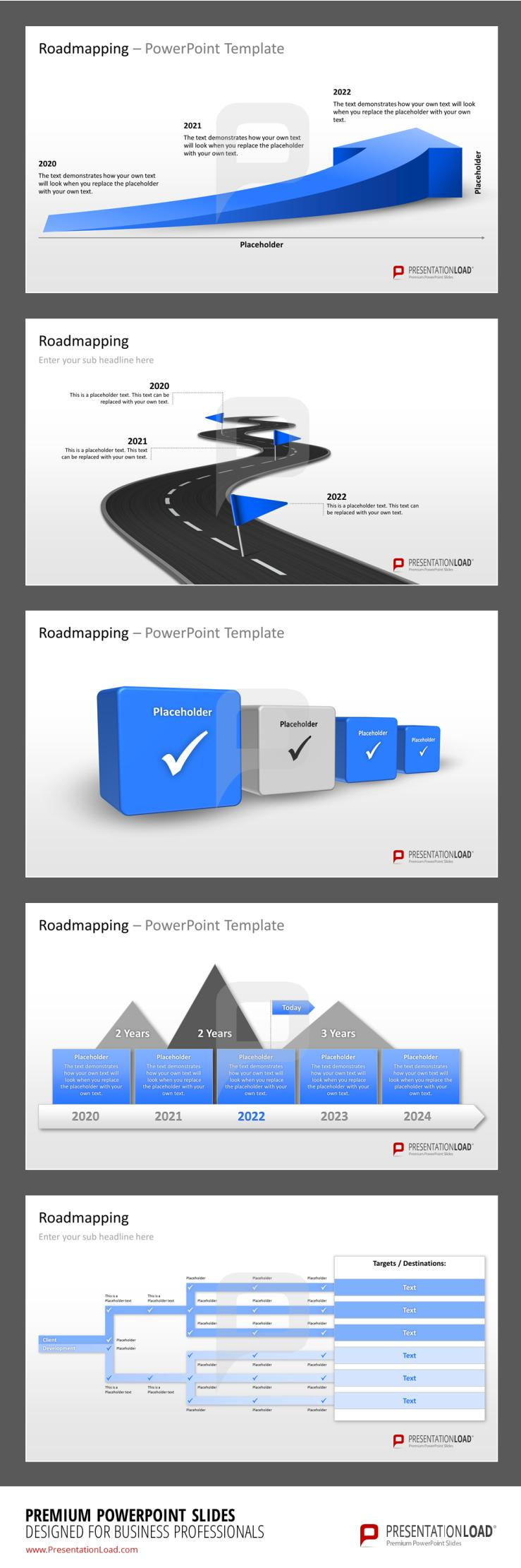 Roadmap Powerpoint Templates Presentationload HttpWww
