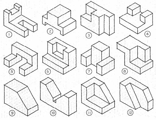 Kids are amazed by seeing people draw 3D shapes, but they