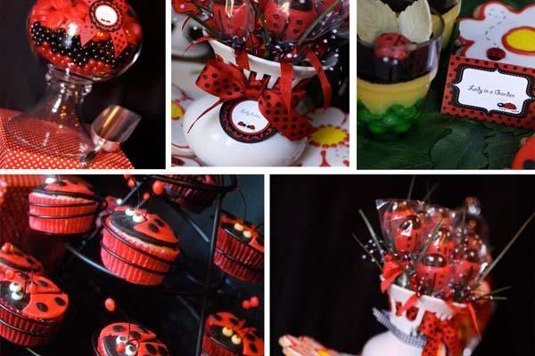 Ladybug 1st Birthday Party Ideas