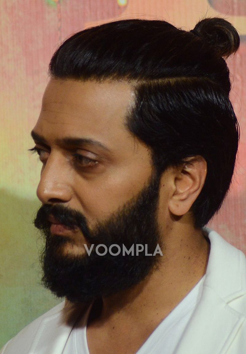 Voompla Beard Latest Pics Man Bun
