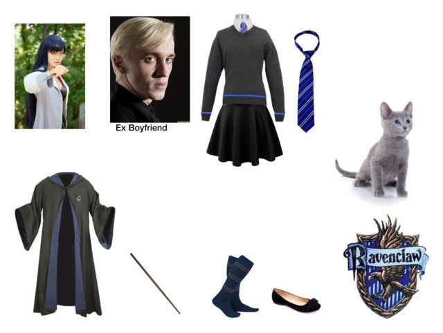 """Hikari Himuro (Harry Potter Oc)"" by haruhinamikaze ❤ liked on Polyvore featuring moda, Sirius y Machi"