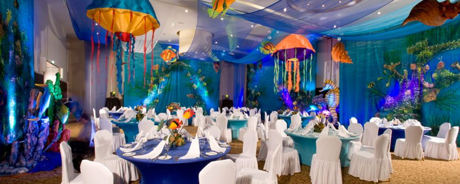 Enchantment Under The Sea Reception Sea Party Ideas Under The