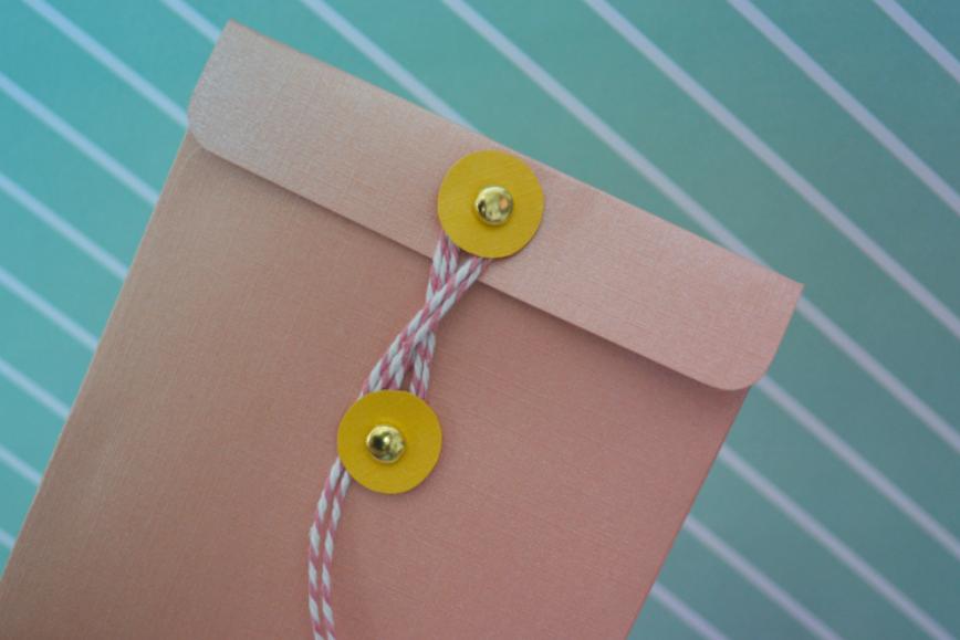 DIY - L'enveloppe à fermeture japonaise