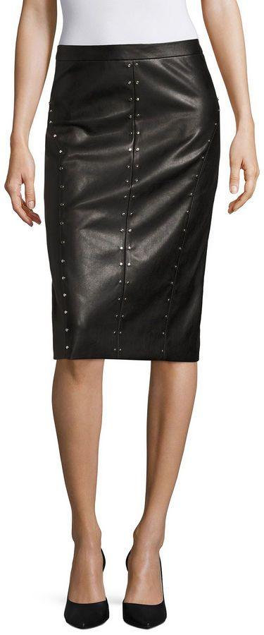 52facedc23a6 WORTHINGTON Worthington Pencil Skirt | Women's Skirts | Faux leather ...