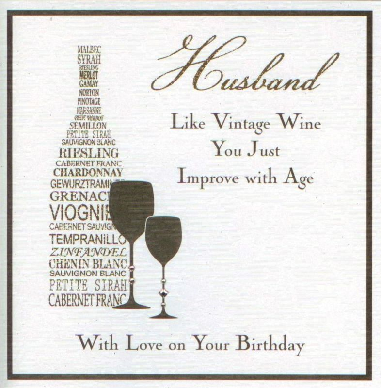 Birthday Card Husband 800 Printable Free Download