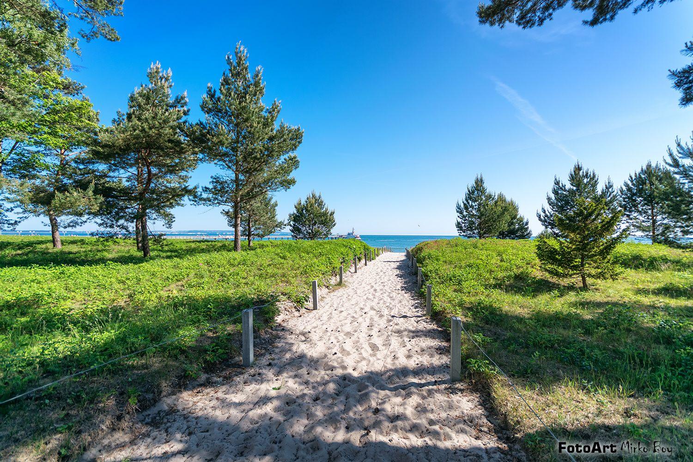 Binz Strandweg Schone Landschaften Rugen Binz Rugen