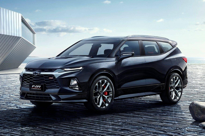 Chevrolet Blazer Que Vira Ao Brasil Sera Versao Esticada De 7 Lugares Com Imagens Chevrolet Blazer Melhor Suv Suv
