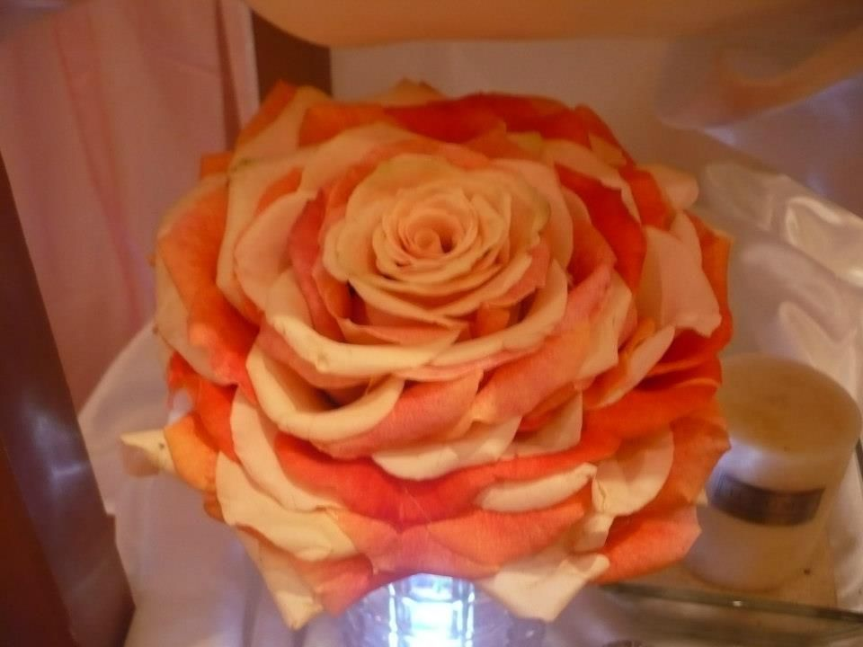 Rose Wedding Bouquet made by Kent Florist Mikiko Inoue