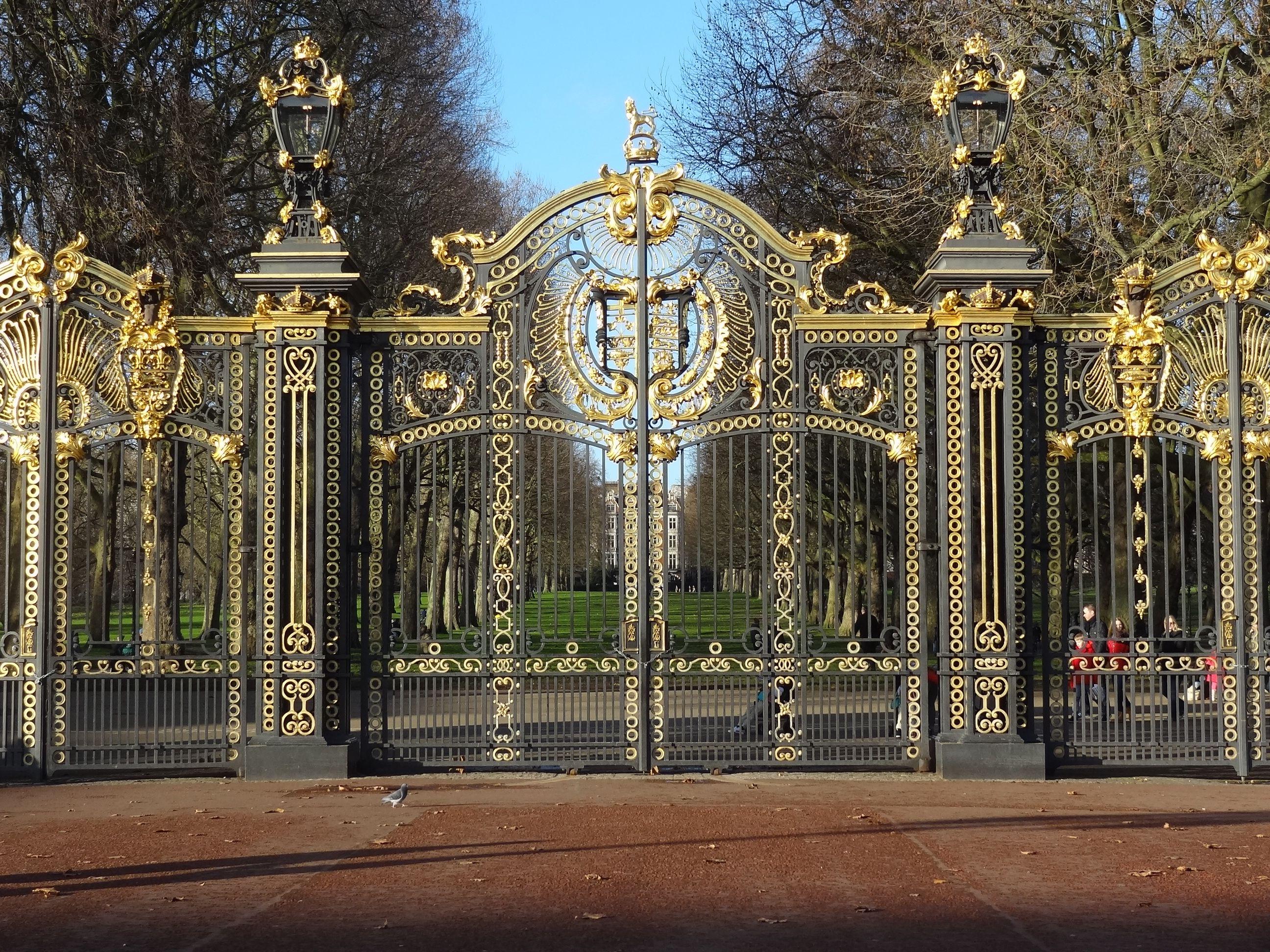Canada Gate Green Park London АРьбом дРя ескізів