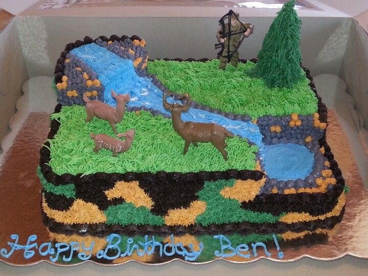 Hunting Cake Birthday Cakes Themed