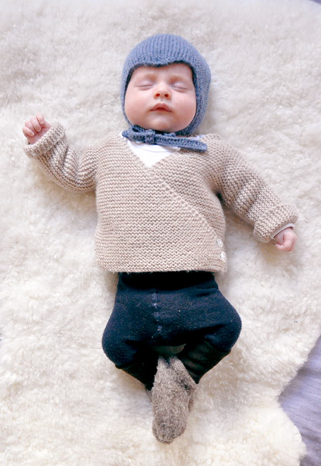 ulma: baby cardigan – free knitting pattern | Baby | Pinterest ...