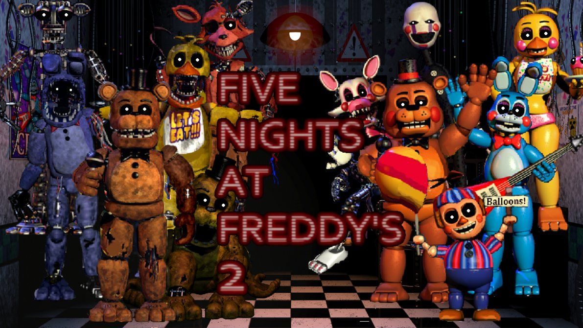 Pin On Five Nights At Freddy S Wallpapers