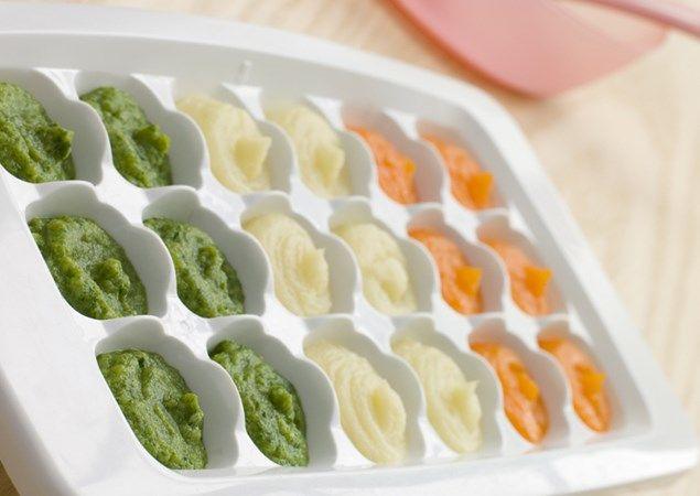 how to reheat frozen baby food