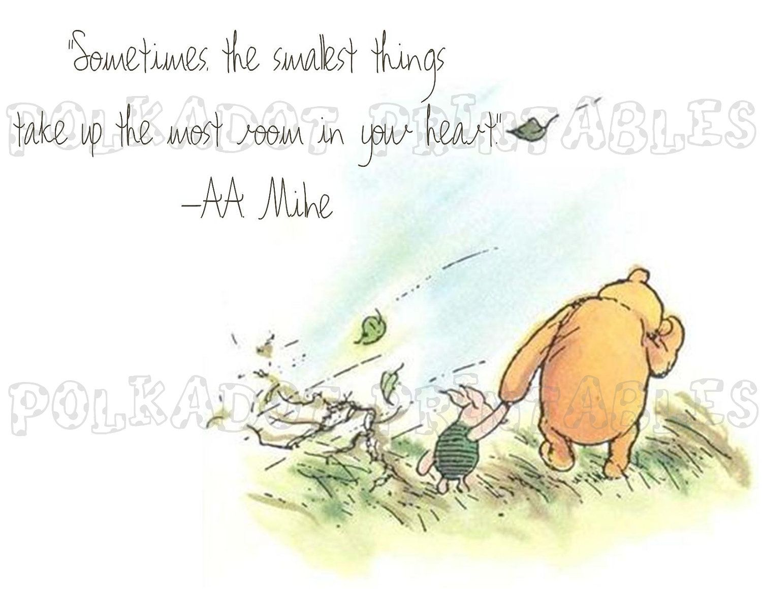 When its chilly, windy and/or rainy.I called it a winnie the pooh day. Reminds me of the classic pooh bear books where you'd see Pooh and Piglet walking while its windy and chilly. I love classic winnie the pooh.