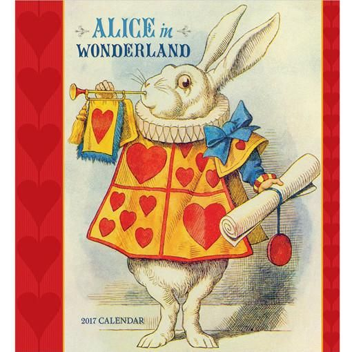 Alice In Wonderland 2017 Calendar