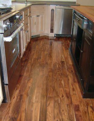 Asian Walnut Acacia Wood Hardwood Floor Flooring Home Decor And