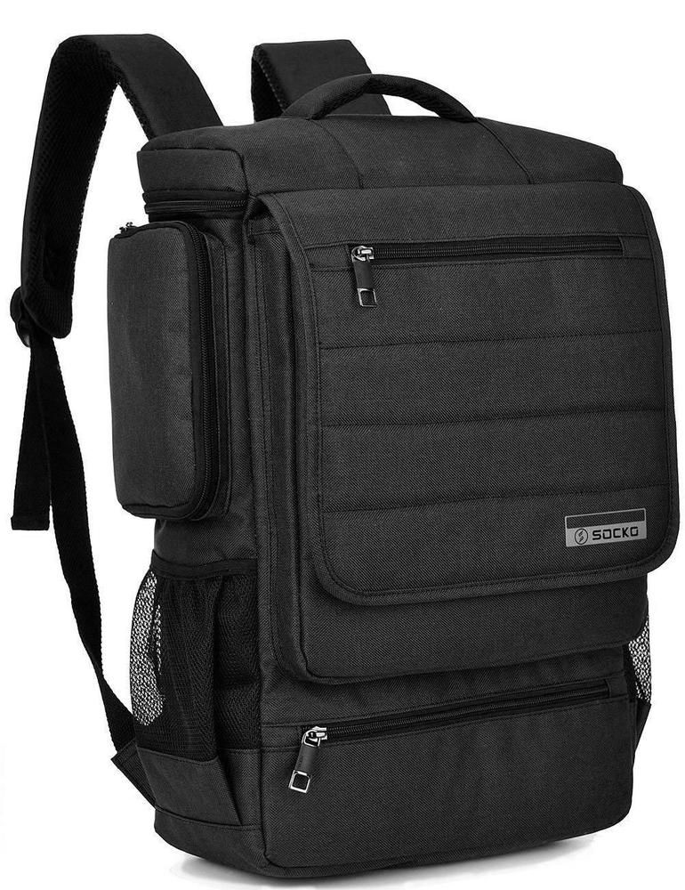Notebook Backpack Laptop Briefcase Computer Bag Travel School Work Gym 17 Inch Fashion Clothing Shoes Accessories Mensaccessories Bags Ebay Link