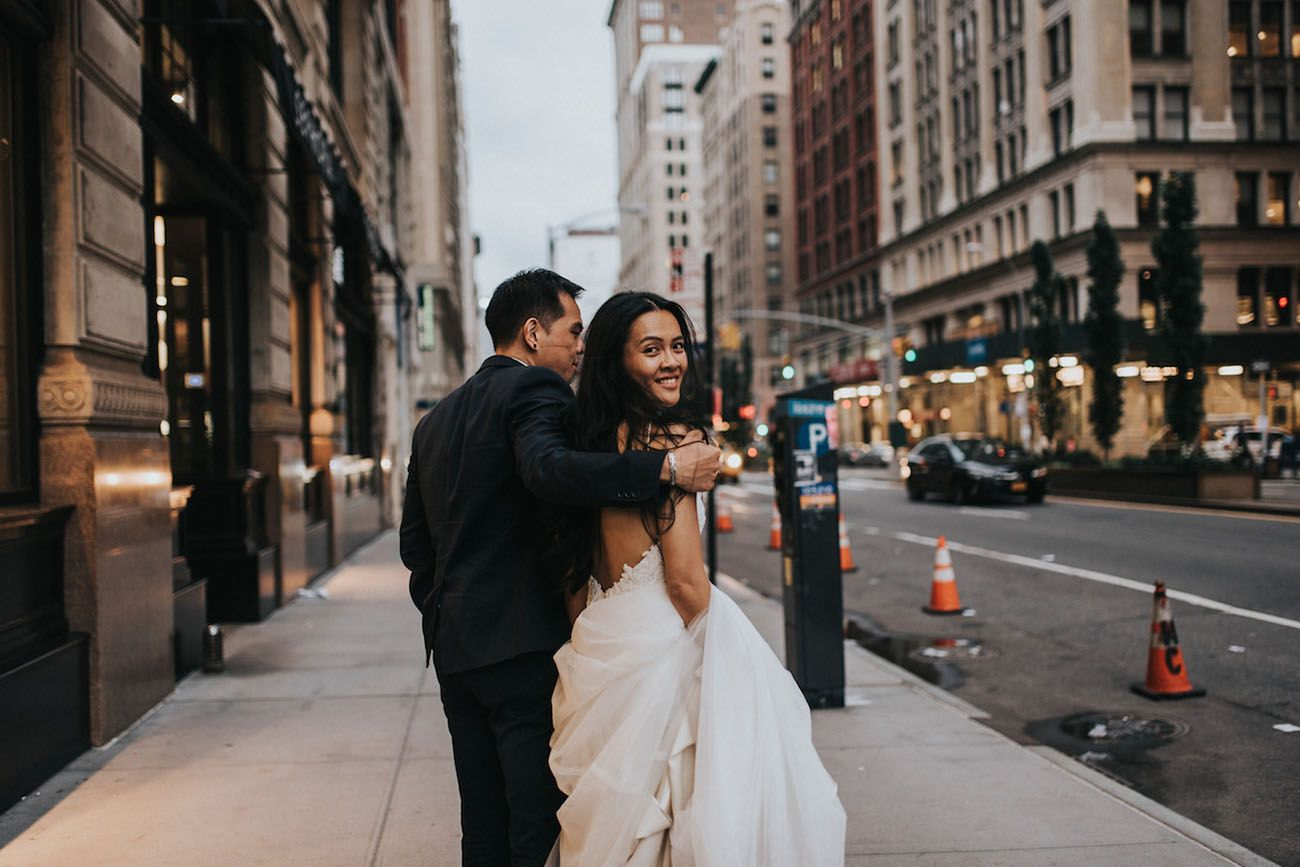 From Dumbo To The Flatiron A New York City Elopement Nyc City