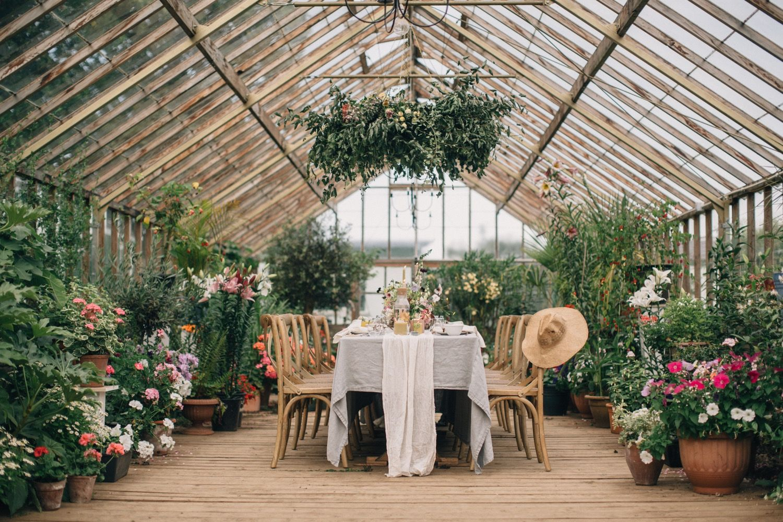 Greenhouse wedding | Greenhouse wedding, Garden wedding ...