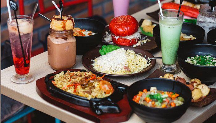 Tempat Makan Baru Di Jakarta Yang Hits Whats Up Cafe Makanan