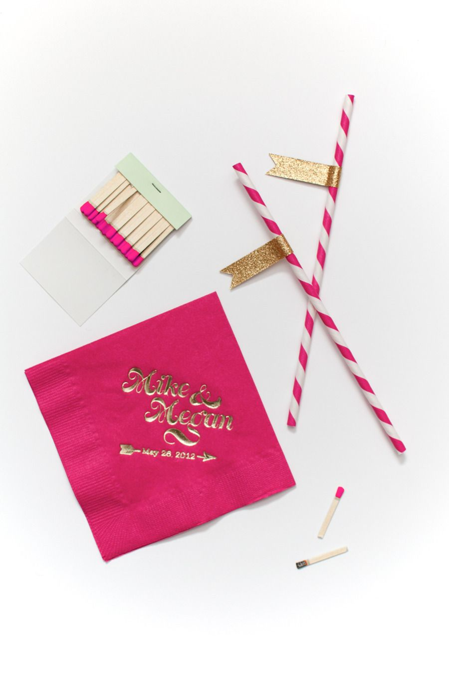 Kate Spade Inspired Wedding Invitation from Coral Pheasant ...
