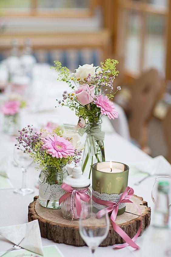Trachtenhochzeit Auf Dem Nebelhorn Dekoration Hochzeit Hochzeitsdeko Tischdekoration Hochzeit