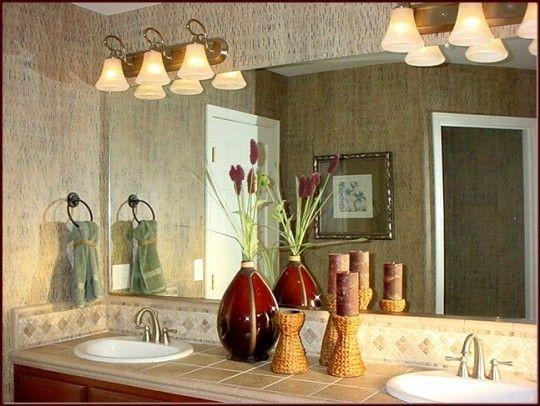 Modern-bathroom-lighting fixture nice Contemporary Decor