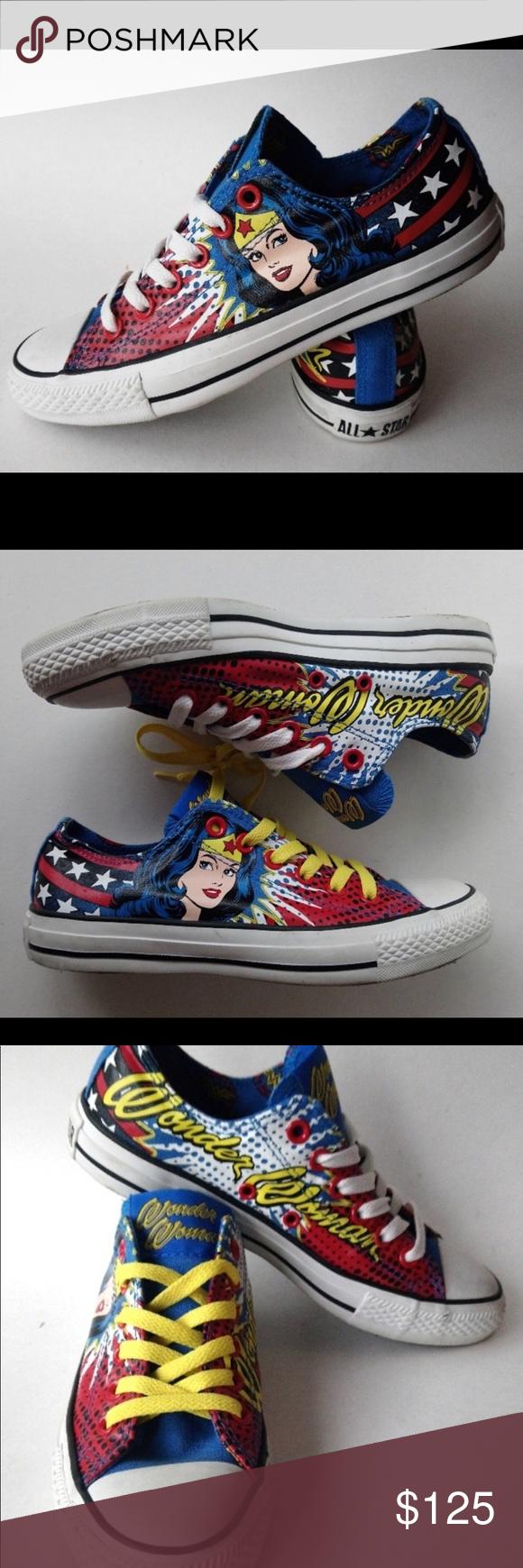 c29174c4b8b432 Custom Wonder Woman Chuck Taylor Converse. NEW DC Comics Custom ...