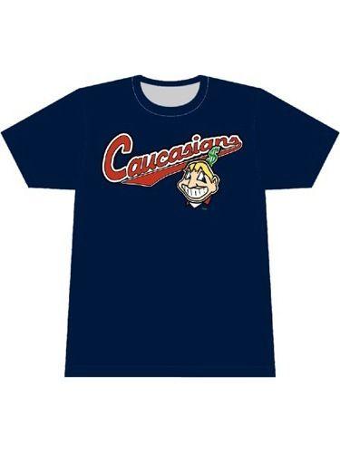 Non Native American Caucasians Mens Short Sleeve T-Shirt Graphic Tshirts Tee