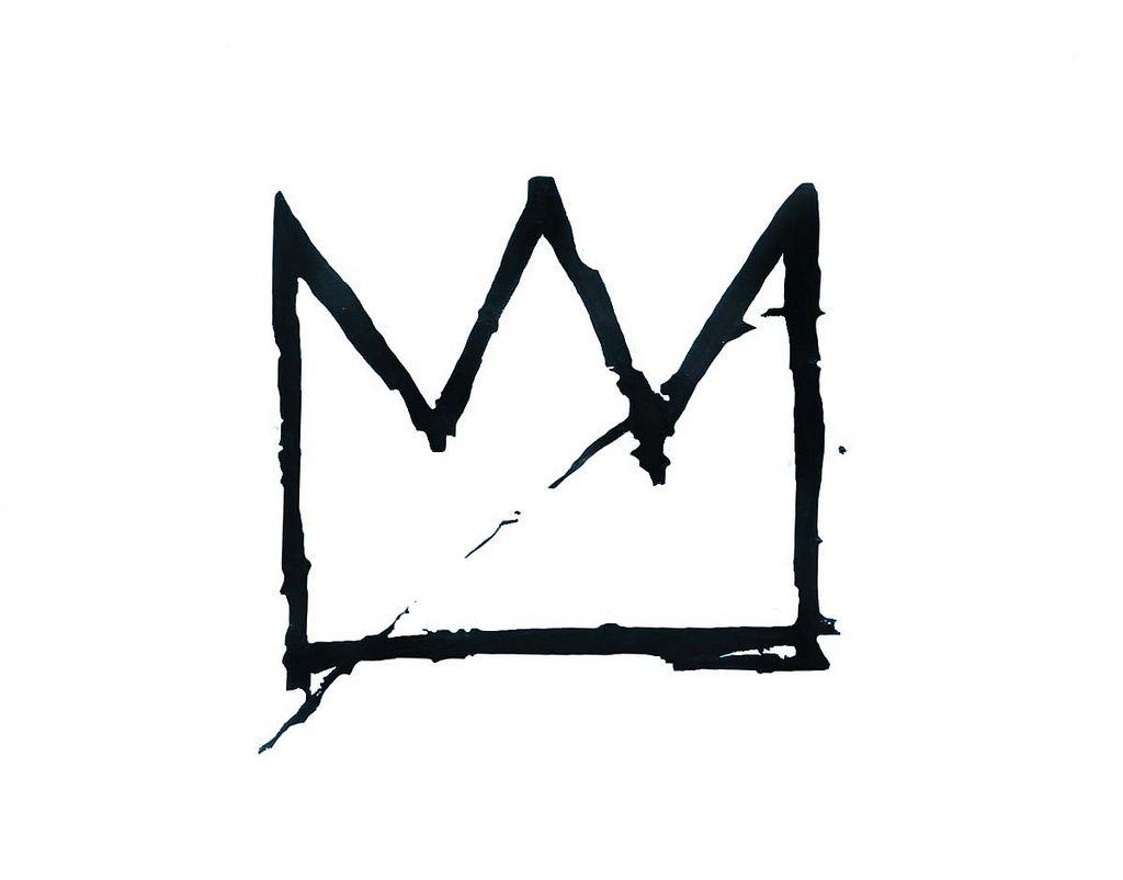 Basquiat crown tattoo piercings and tatting basquiat crown flickr photo sharing buycottarizona