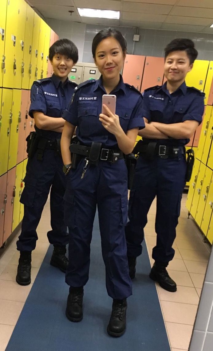 Hong Kong Policewomen Pants Suits Hong Kong